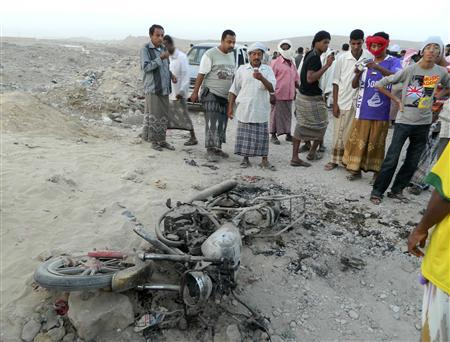 Reuters/http://www.reuters.com/article/2012/12/28/us-yemen-drone-idUSBRE8BR0CN20121228?feedType=RSS&feedName=worldNews&utm_source=feedburner&utm_medium=feed&utm_campaign=Feed%3A+Reuters%2FworldNews+%28Reuters+World+News%29&utm_content=Google+Reader